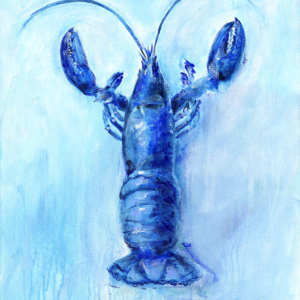 Maine Lobster (in marine)  - Acrylic - 20 x 24