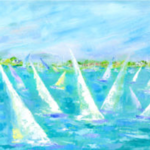 Saturday Regatta - Acrylic - 24 x 36