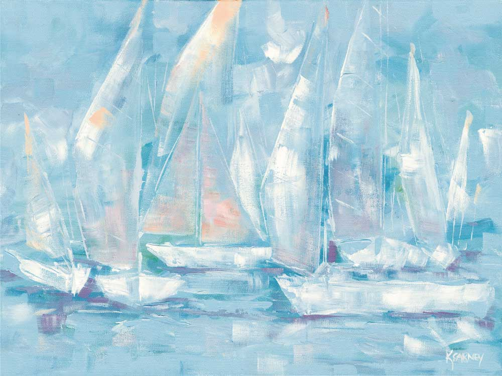 Dream Sails  -  Acrylic  -  18 x 24