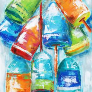 Buoys Hangout  - Acrylic - 18 x 24