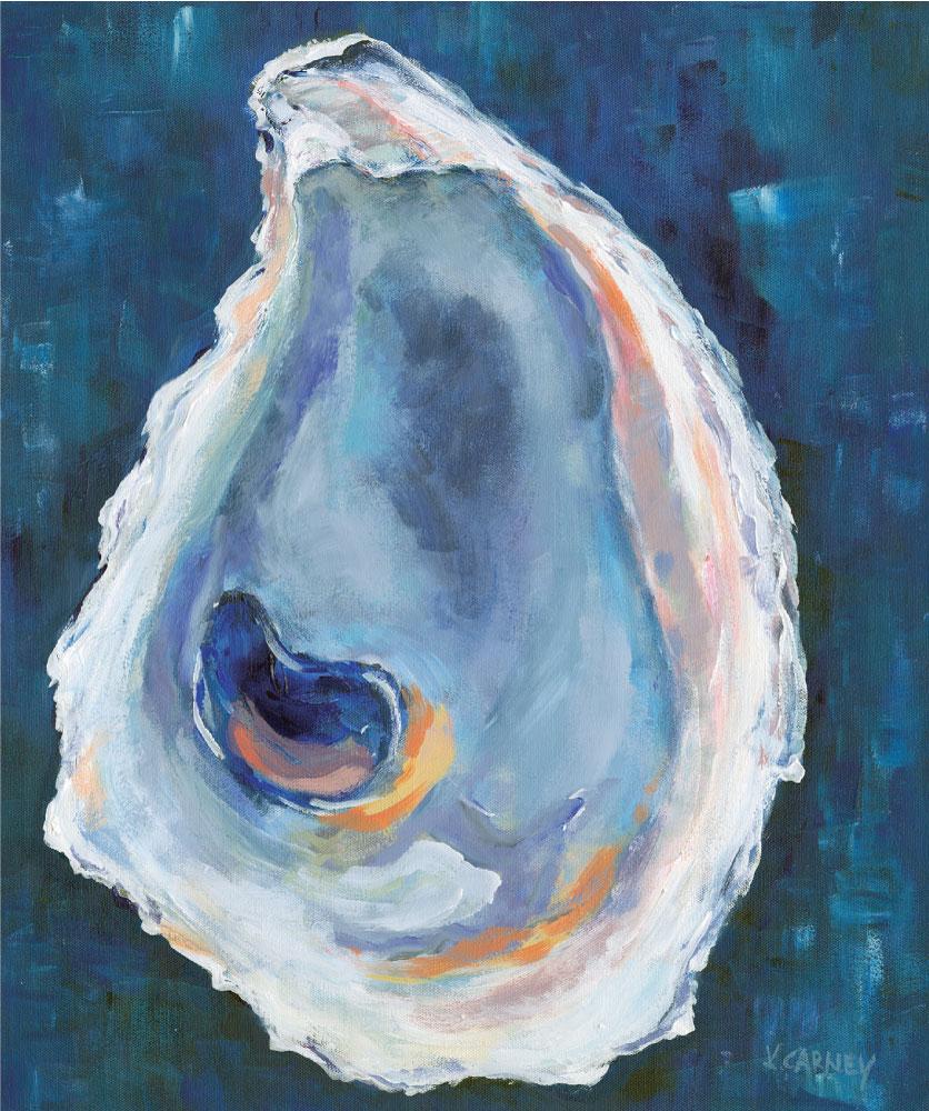Birthday Oyster - Acrylic - 20 x 24