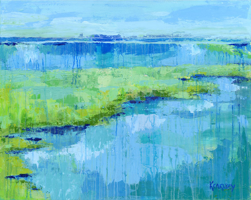 Southern Salt Marsh  - Acrylic - 24 x 30