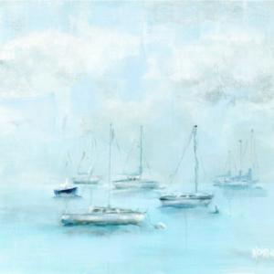 Misty Harbor – Acrylic – 24 x 32