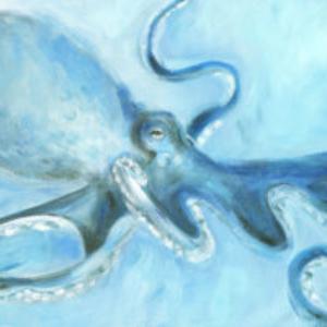 Always an Octopus – Acrylic – 16 x 40
