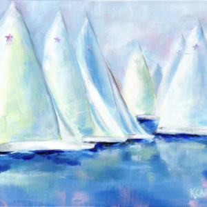 Star Sails - Acrylic - 16 x 20