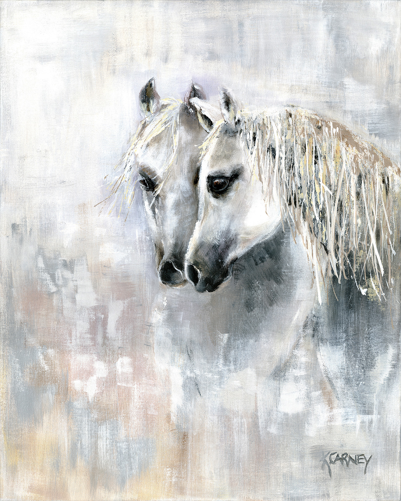 Whisper Grays - Acrylic - 24 x 30