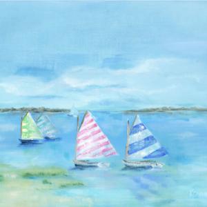 Sail to the Jetty - Acrylic - 20 x 24