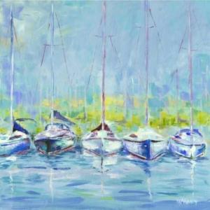 Chesapeake Raft – Acrylic – 24 x 24