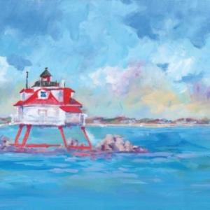 Thomas Point Lighthouse - Acrylic - 18 x 24