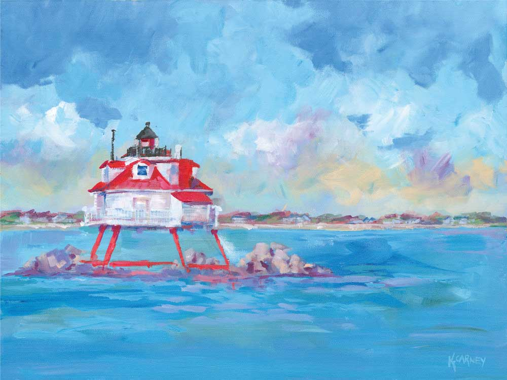 Thomas Point Lighthouse - Acrylic - 18 x 24