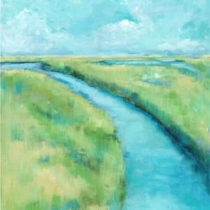 Path to Emerald Isle- Acrylic - 24 x 30