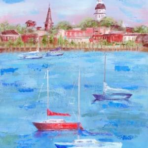 Annapolis Summer - Acrylic - 24 x 36