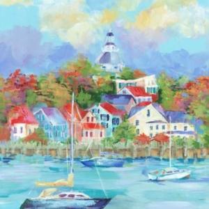Annapolis Fall - Acrylic - 20 x 24