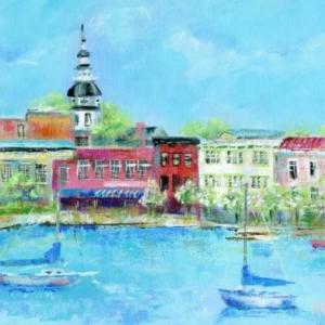 Annapolis Spring - Acrylic - 12 x 16