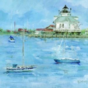 Sailing to Saint Michaels - Acrylic - 20 x 24