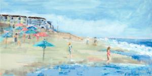 I Love Bethany Beach - Acrylic - 15 x 30