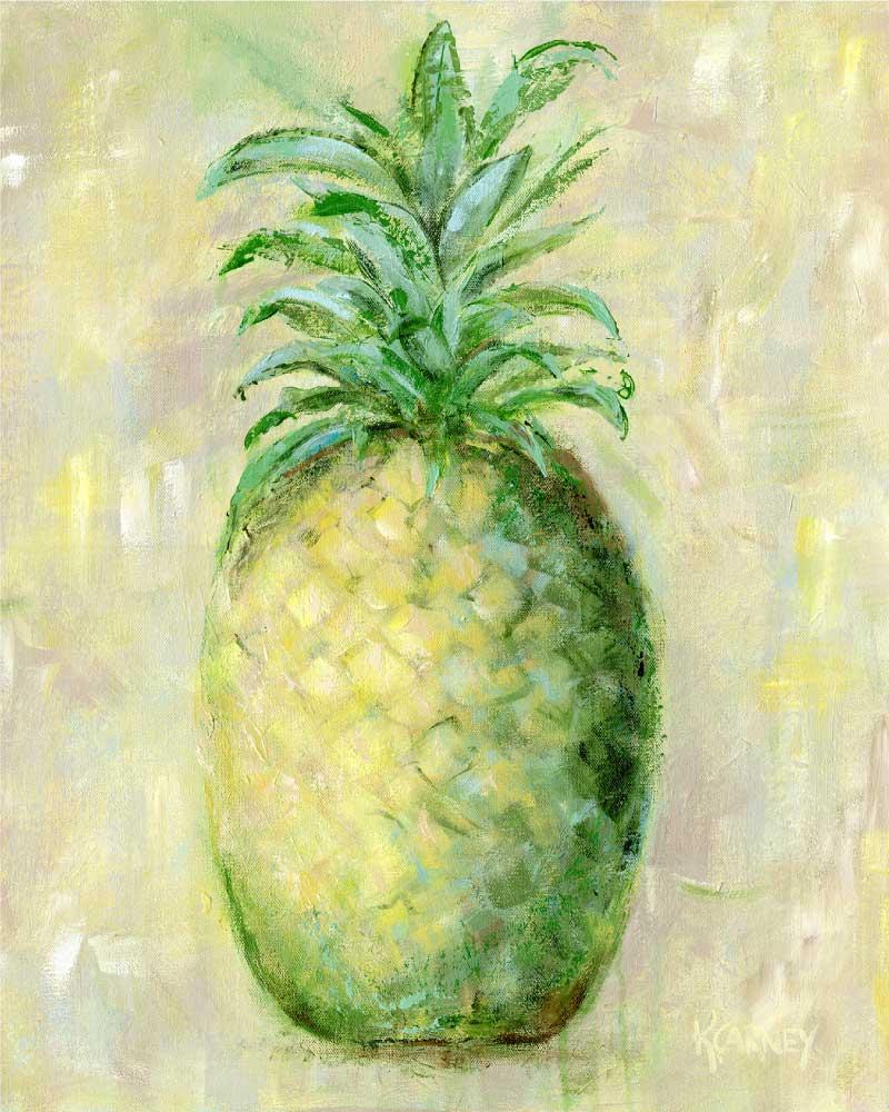 A Proper Pineapple  -  Acrylic  -  20 x 24