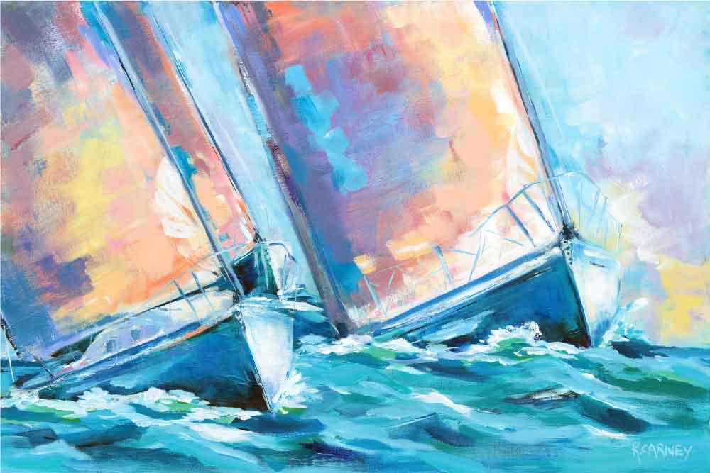 Sails in Sorbet (SOLD)
